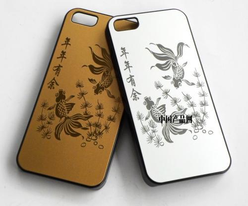 手机壳激光雕刻图案、刻字、照片加工首选激光打标机  第3张