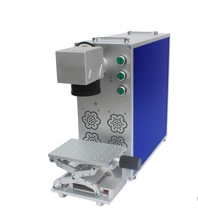 轻量级小型光纤激光打标机