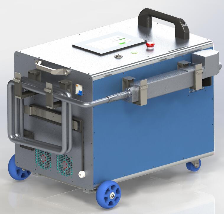 100W手提式激光清洗机(除锈机)  第1张