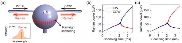 北大科研团队实现了自发对称破缺微腔激光