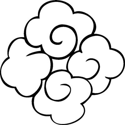【祥云】激光打标机祥云矢量图模板60个下载地址