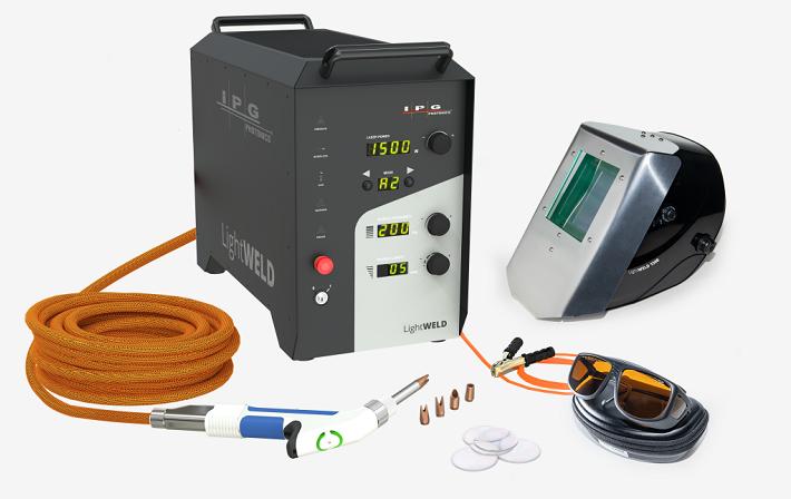 看下IPG推出的1500手持式激光焊接系统  第1张